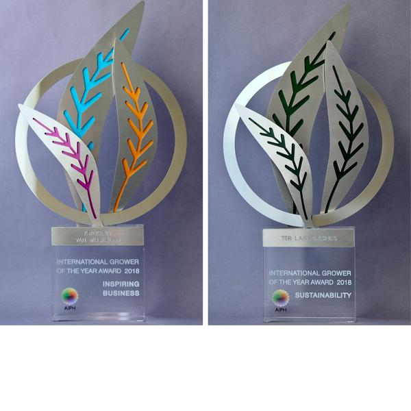 AIPH INSPIRING BUSINESS AWARD AND SUSTAINABILITY AWARD -