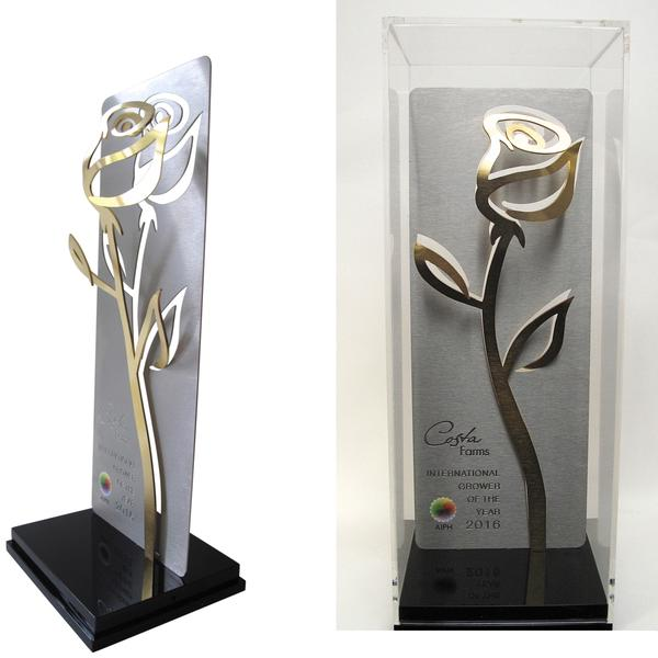 AIPH Golden Rose of the Year Award -  Voor kort filmpje van de Golden Rose klik hier.