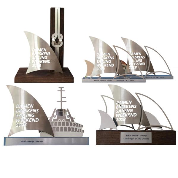 DAAMEN BRESKENS SAILING WEEKEND 2018 OVERALL TROPHIES -