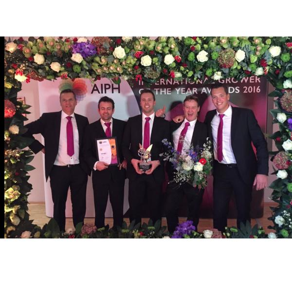 AIPH International Grower of the Year Award 2016 -