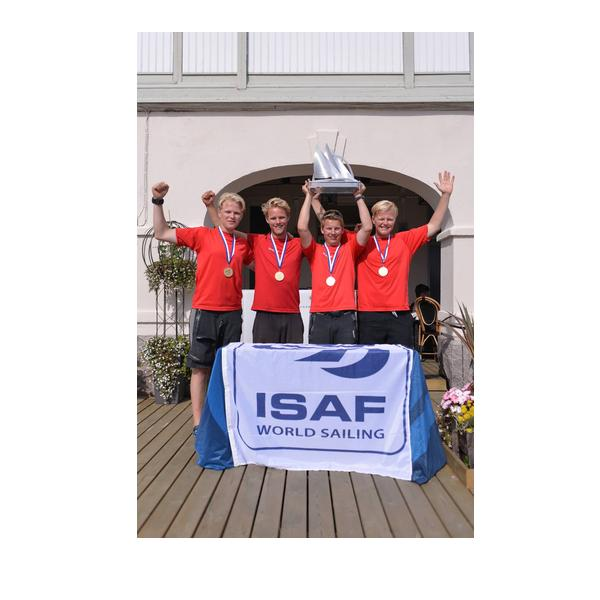 Joachim Aschenbrenner Danish team won the 2014 ISAF Youth Match Racing World Championship